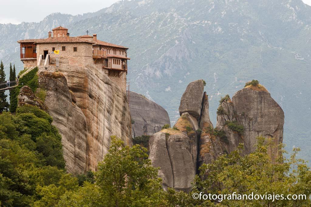 Templo Roussanou en Meteora