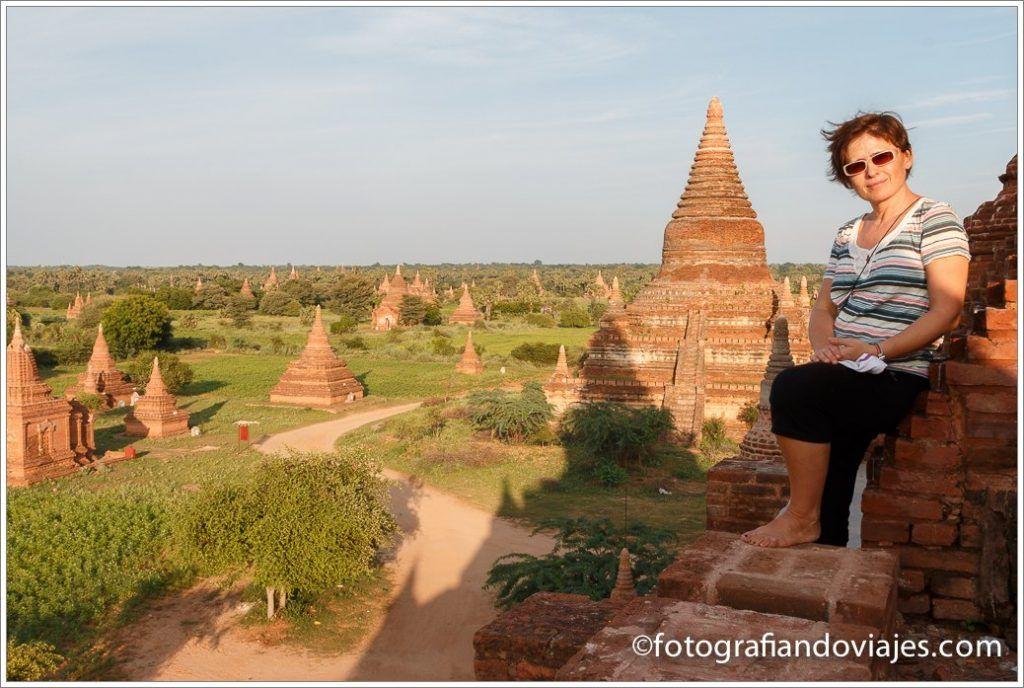 Pagodas en Bagan (Myanmar)