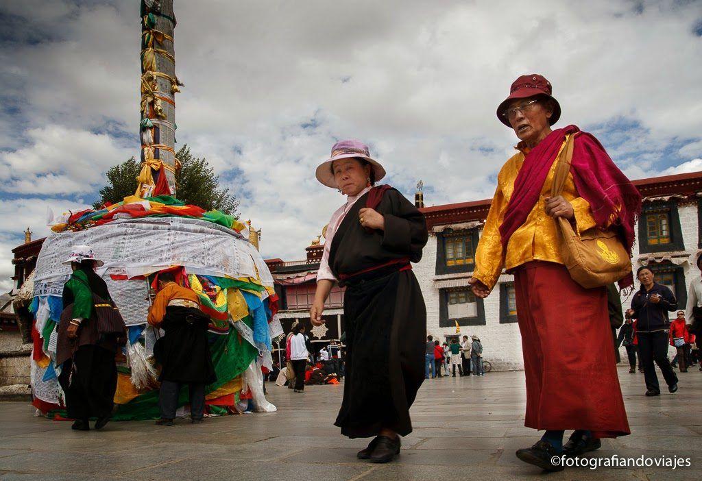 Barkhor en Lhasa
