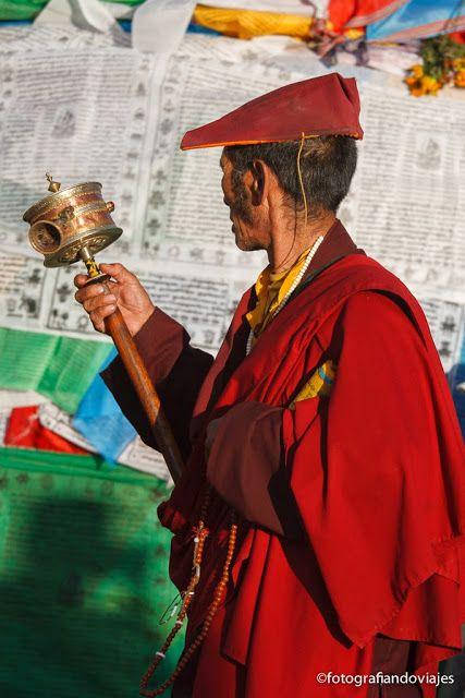 peregrinos en tibet