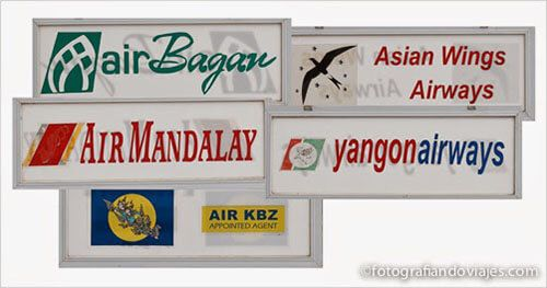 Vuelos en Myanmar