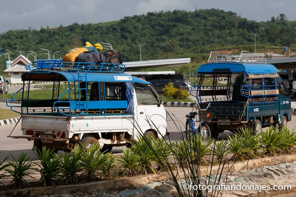 frontera tailandia Laos