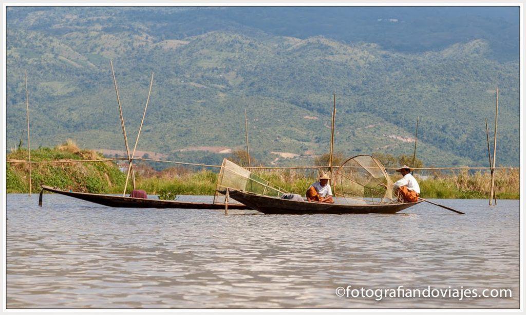 Pescador Lago Inle myanmar