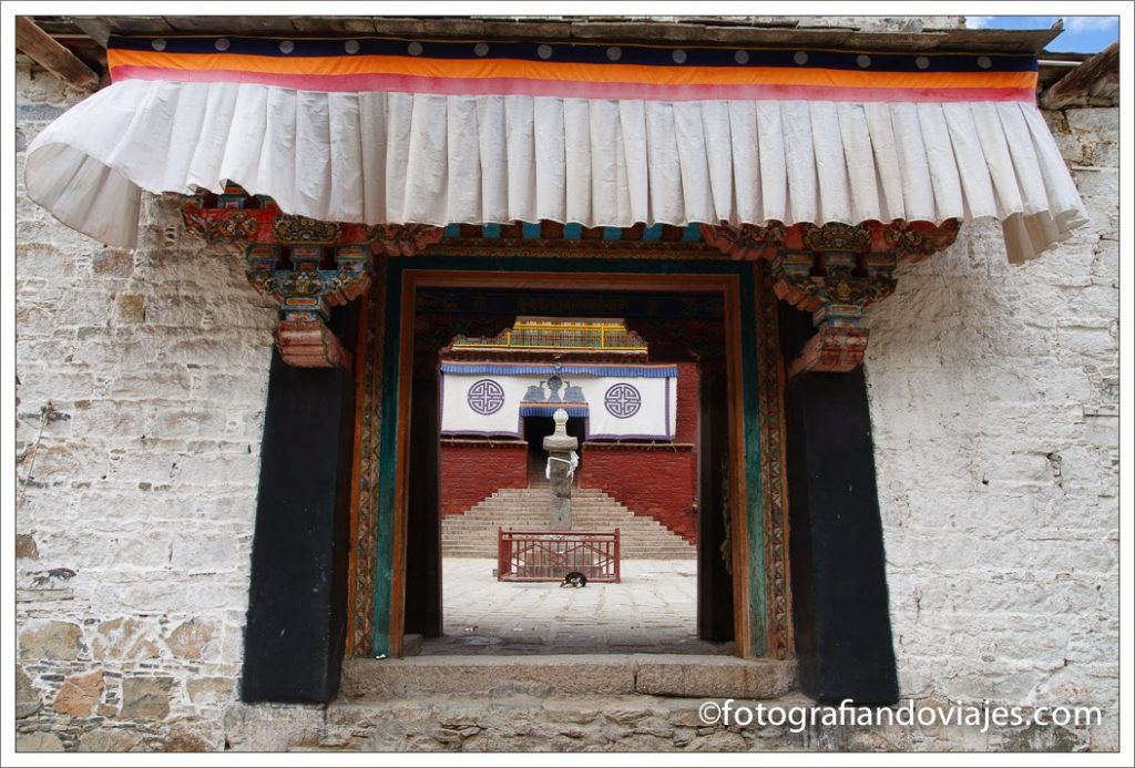 Puerta tibetana