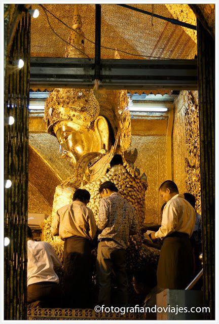 Mahamuni paya en Mandalay