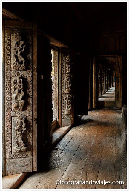 que ver en mandalay Templo Shwenandaw