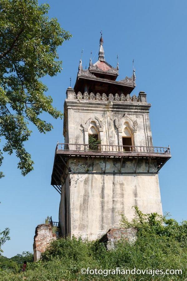Torre palacio Inwa que ver
