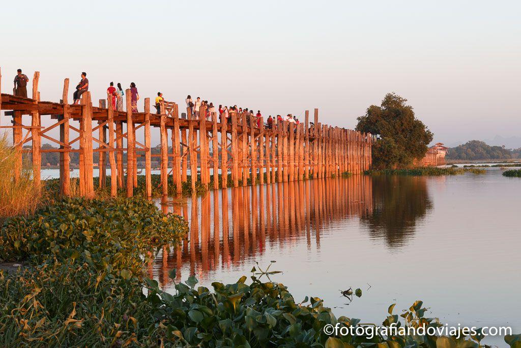 Puente U bein Amarapura