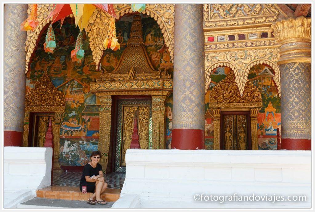 Wat Xieng Mouane en Luang Prabang