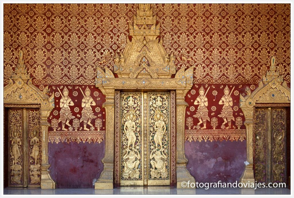 Wat Sensoukaram en Luang Prabang