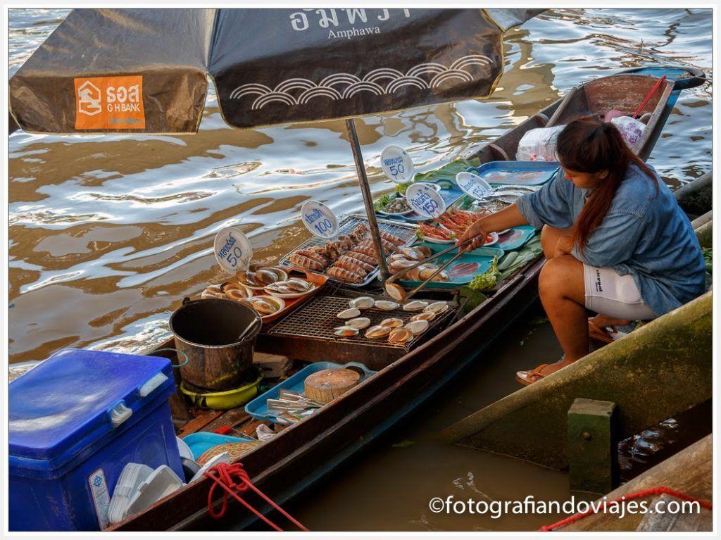 mercado de amphawa