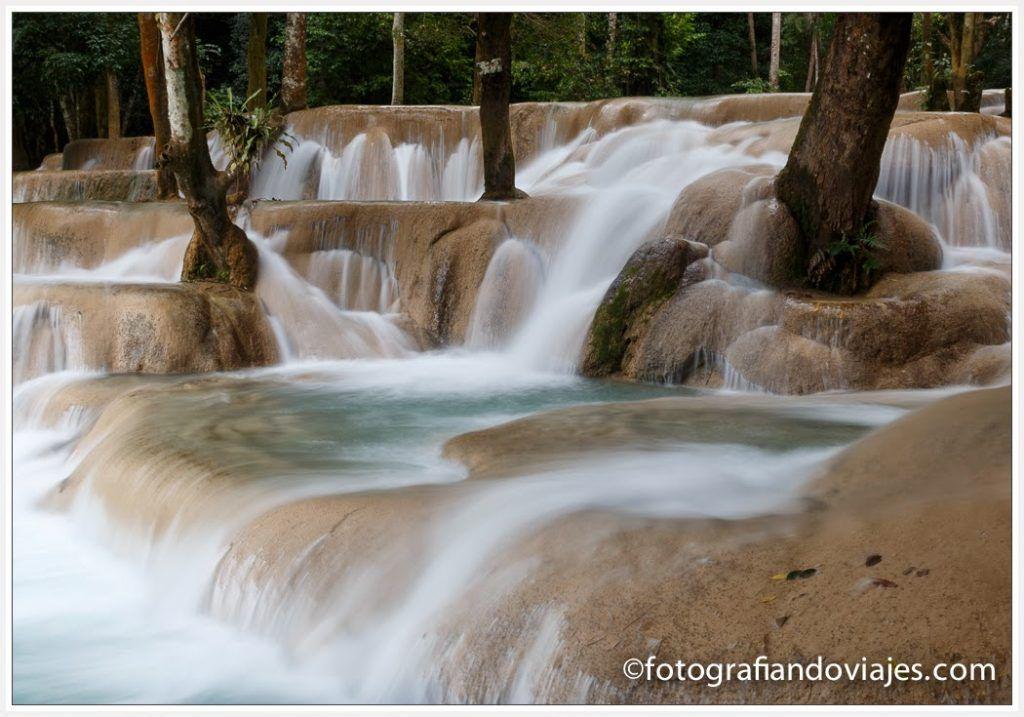 cascadas tad sae luang prabang laos