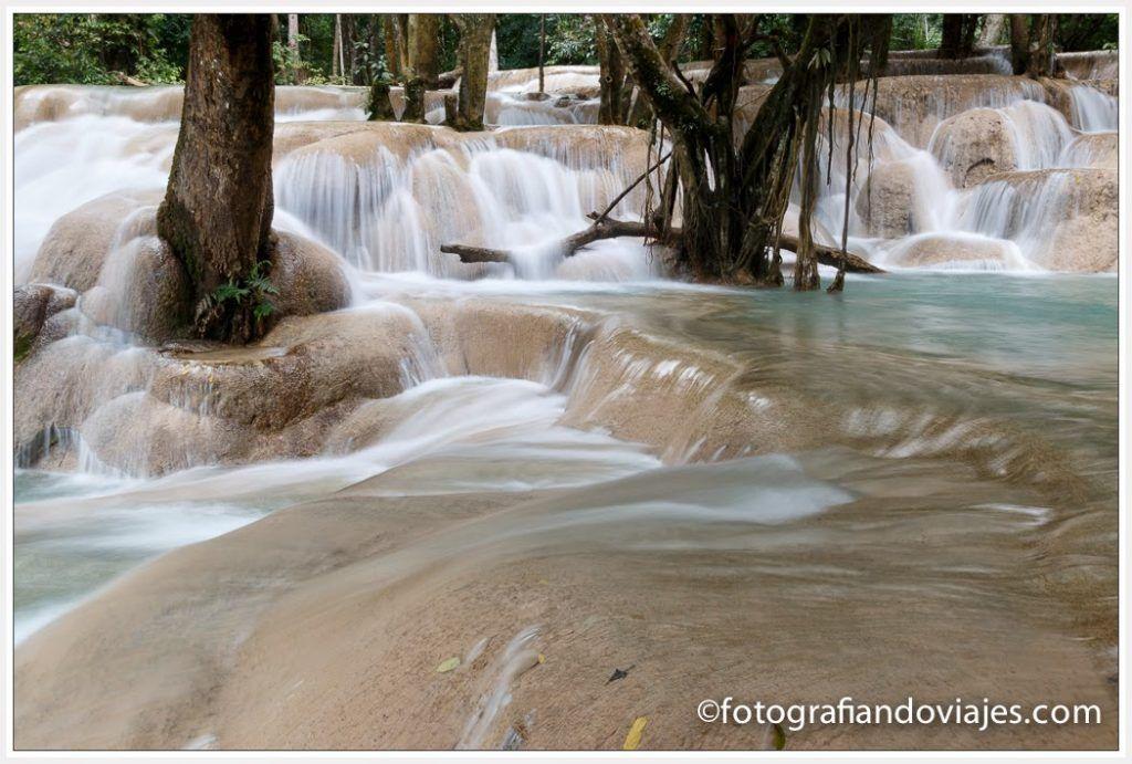 Cascadas cerca de Luang Prabang