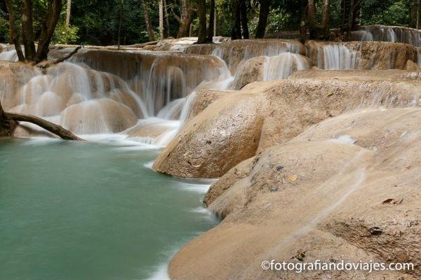 cascada Tad Sae cerca de Luang Prabang