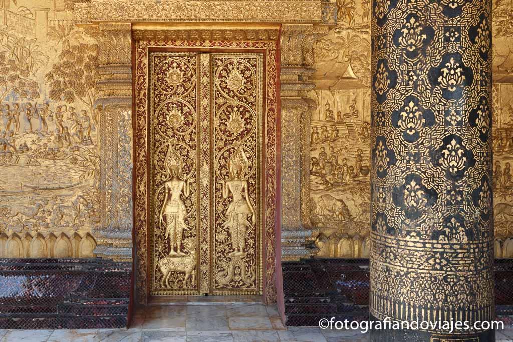 que templos ver en Luang Prabang