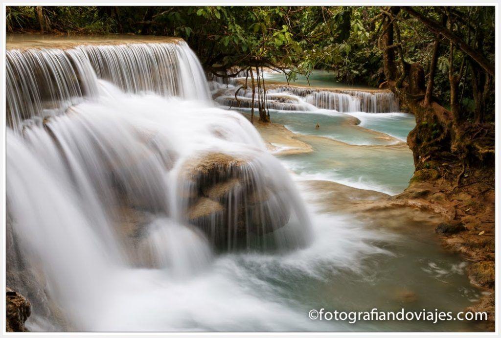 Cataratas cerca de Luang Prabang