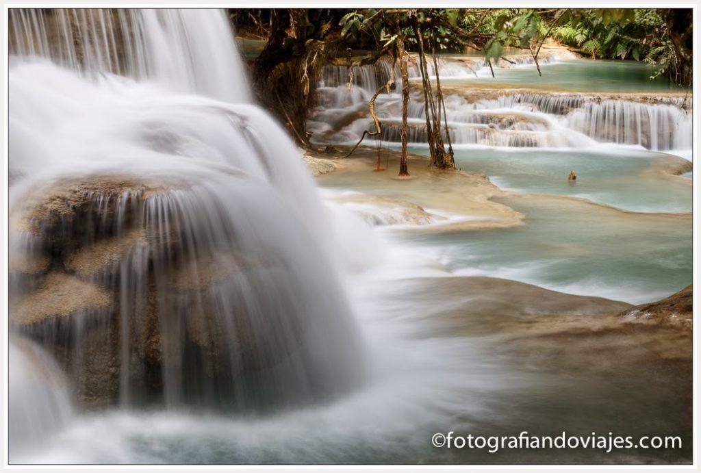 cascadas Kuang si luang prabang laos