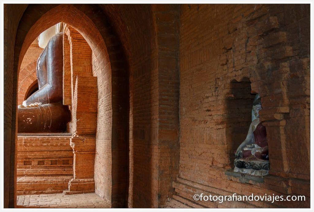 Pyathada Paya en Bagan, Myanmar