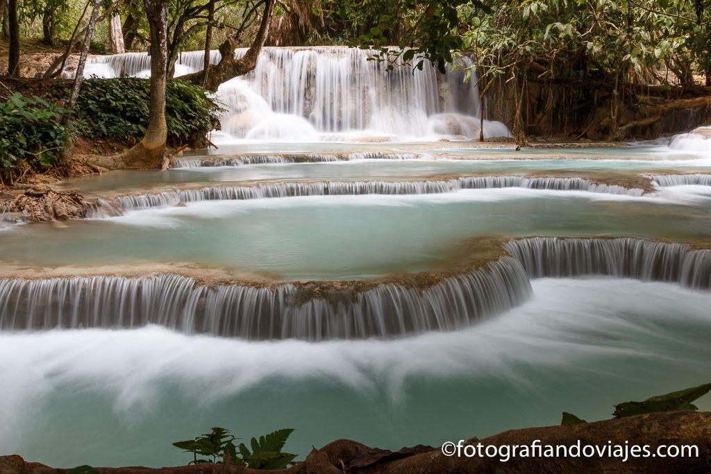 cascadas Kuang Si cerca de Luang Prabang