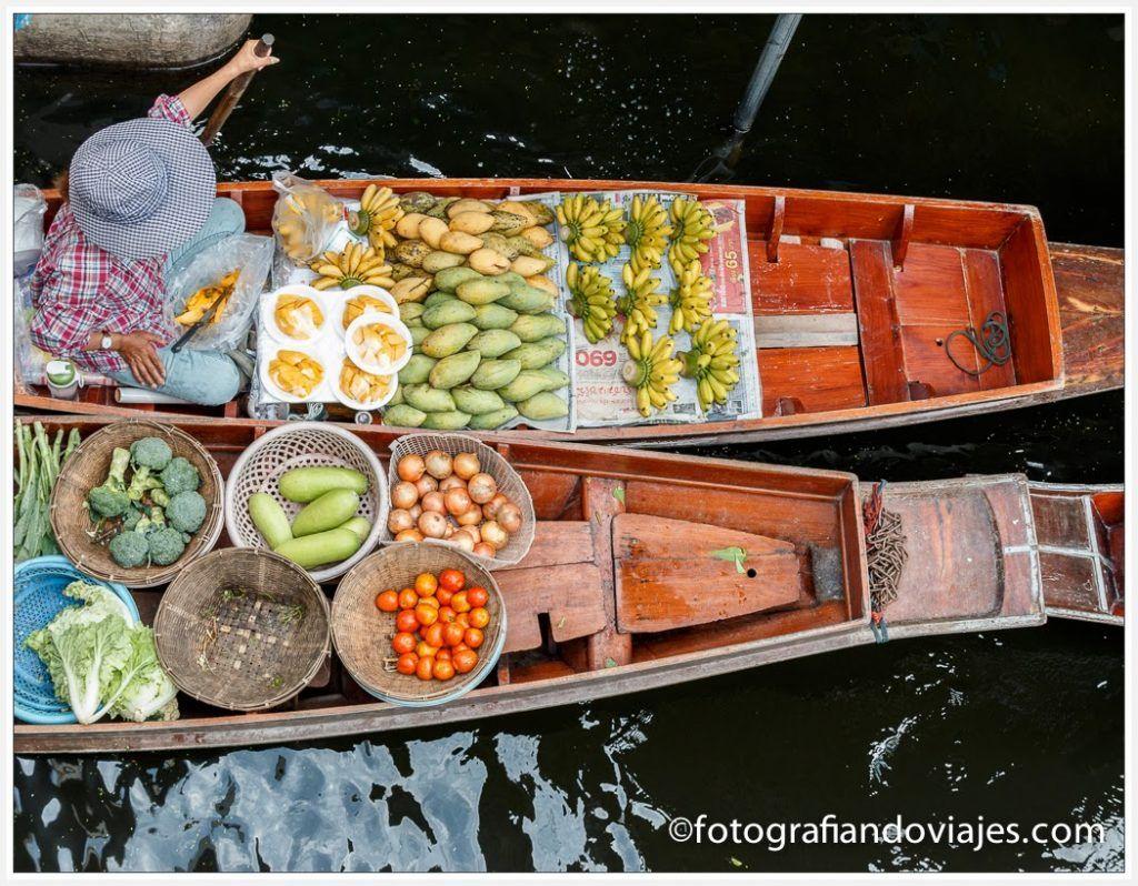 mercado flotante damnoen saduak bangkok