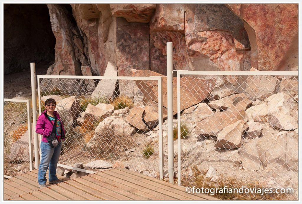 Cueva de las manos en la Patagonia Argentina