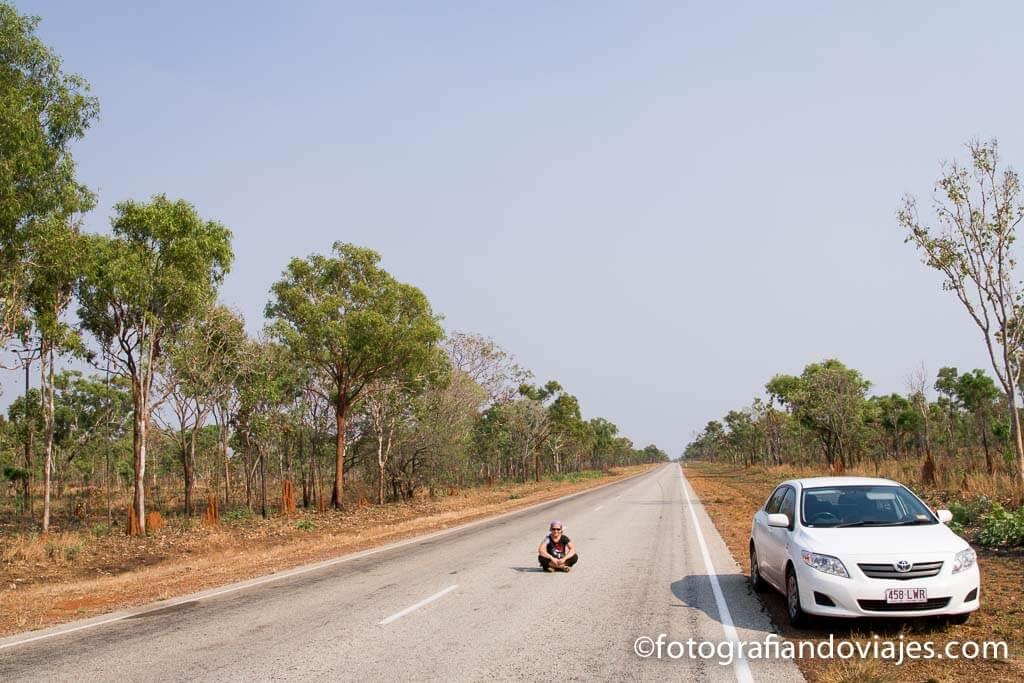carreteras en el outback australiano