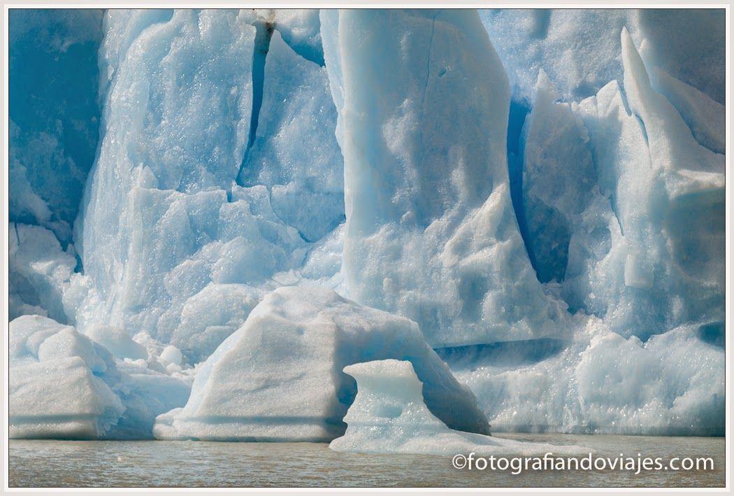 Glaciar Grey navegacion en barco
