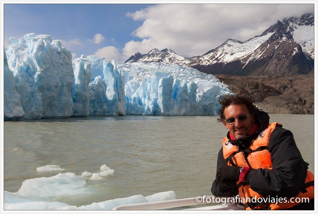 Glaciar Grey en barco