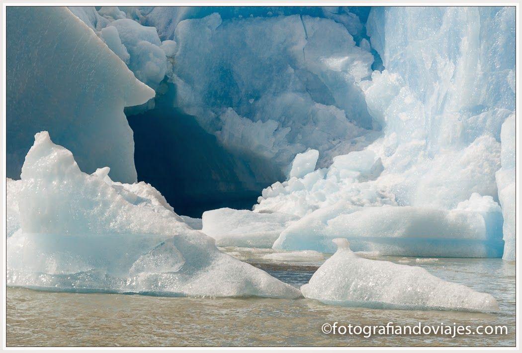 Hielo glaciar