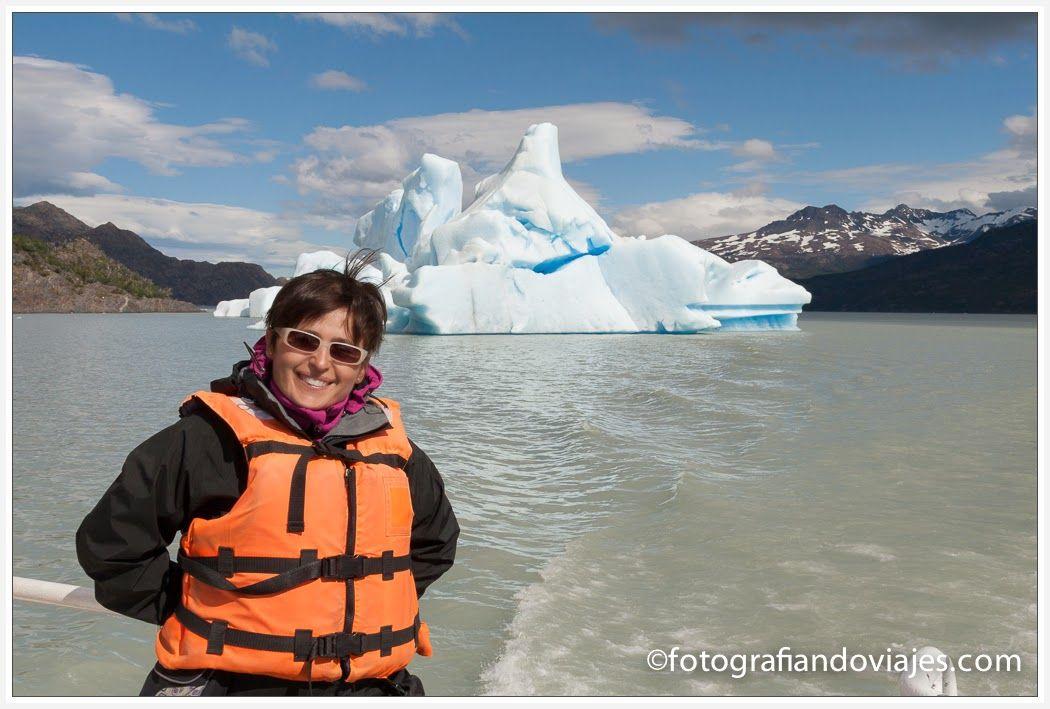 Iceberg en el lago Grey