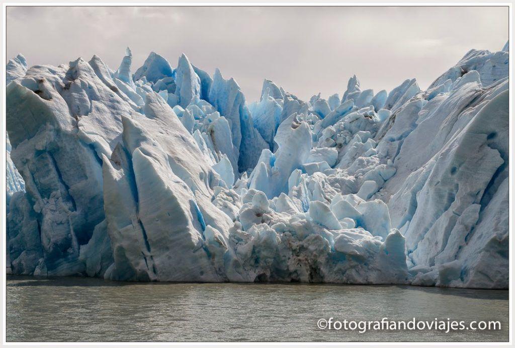 Glaciar Grey en Torres del Paine Chile