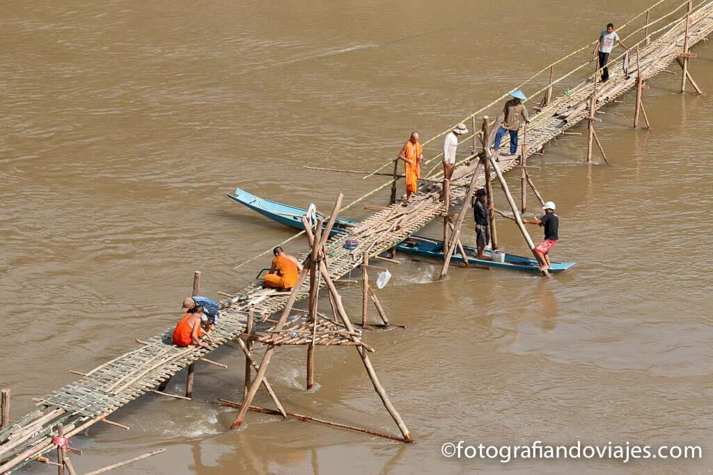 Puentes en Luang Prabang