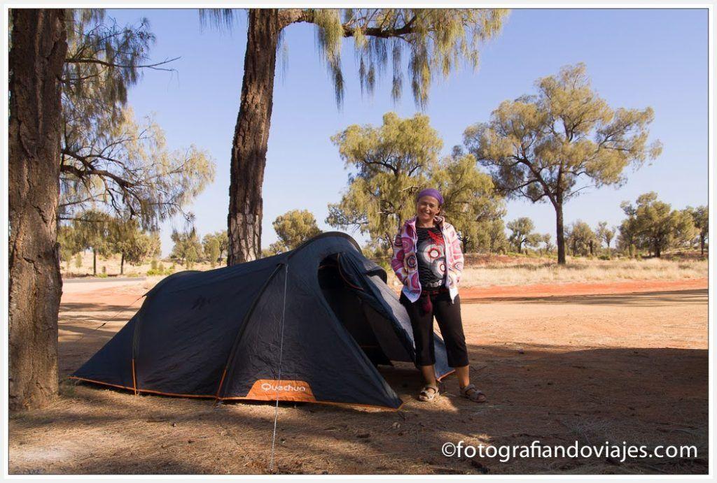 zona de acampada libre cerca de Kings Canyon