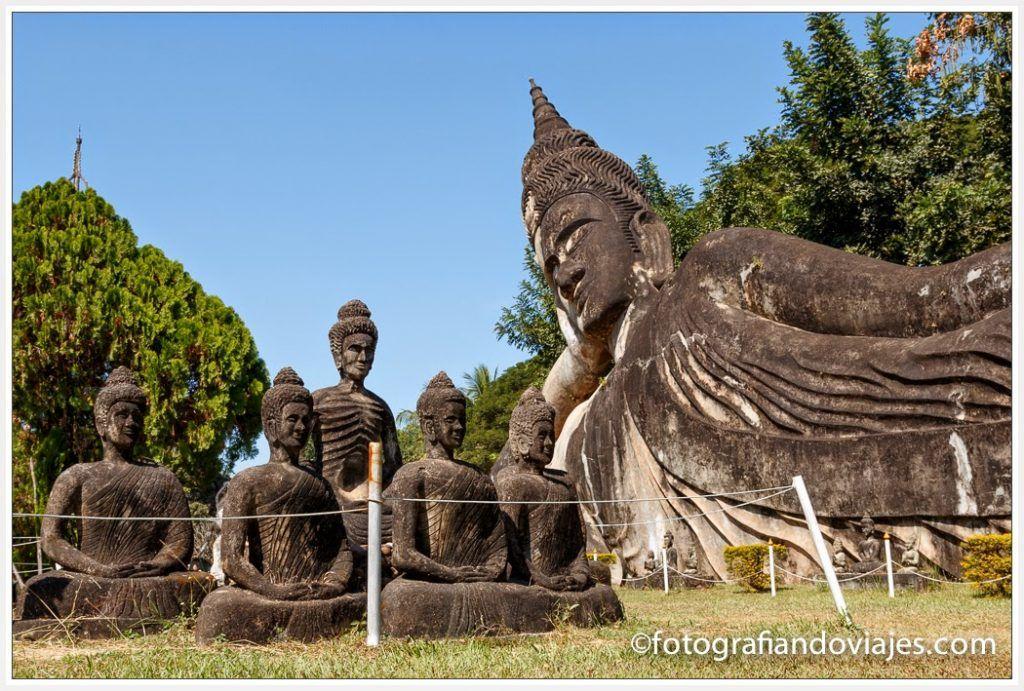 Parque Buda en Vientian
