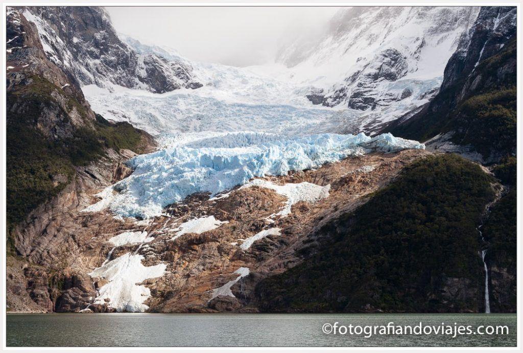 Glaciar Balmaceda en Chile