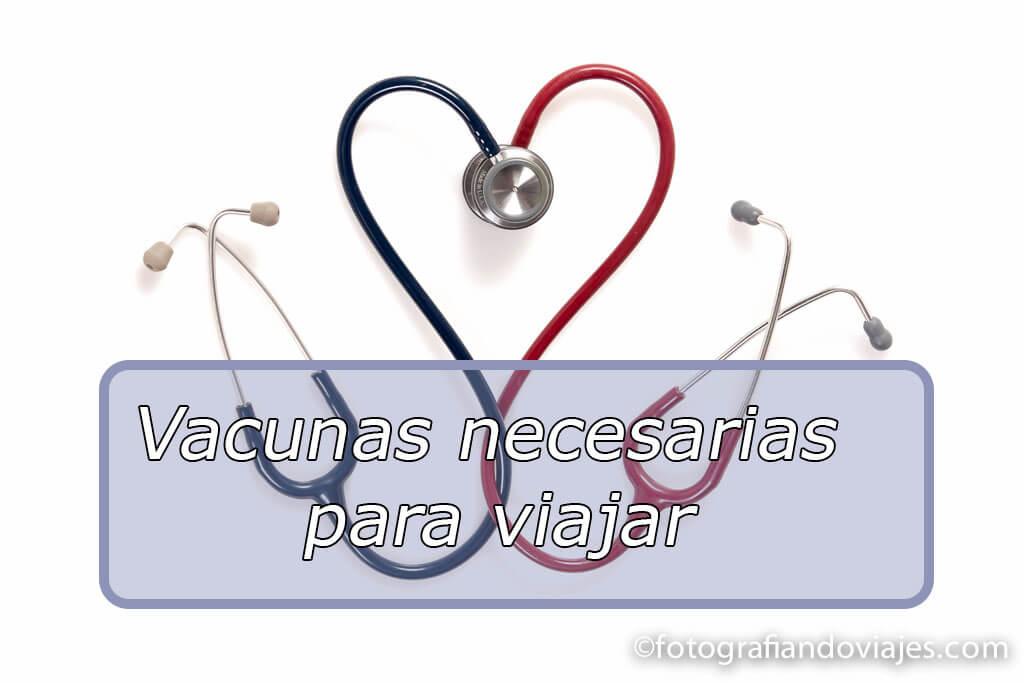 Salud viajera vacunas