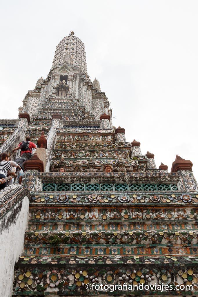 Templo wat arun bangkok