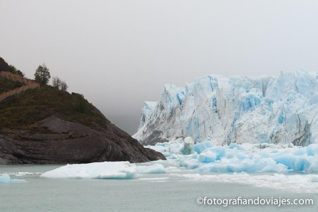 glaciar perito moreno en barco