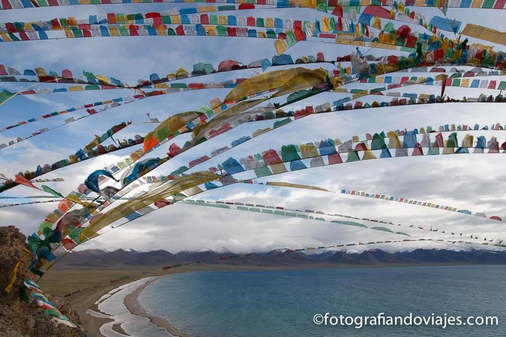 Lago Namtso Nam Tibet