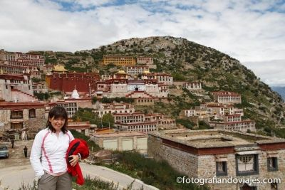 Monasterio Ganden Tibet