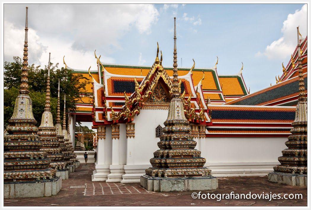 Buda reclinado Bangkok Tailandia