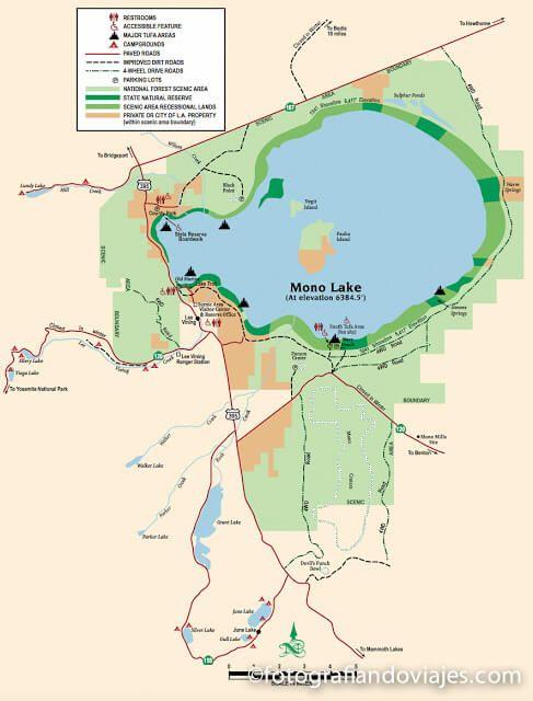Mono lake Estados Unidos