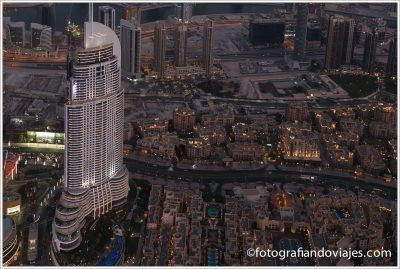 Vistas desde At The Top Burj Khalifa