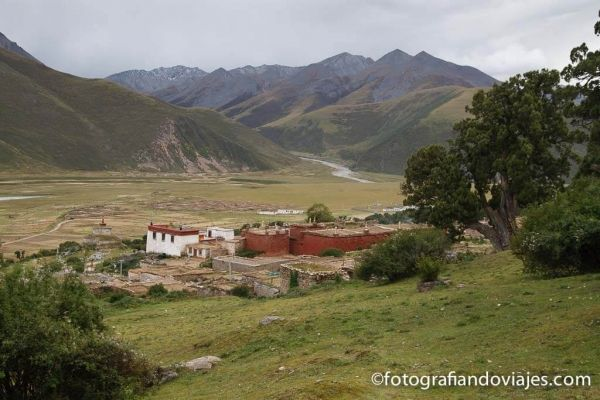 Monasterio Reting Tibet