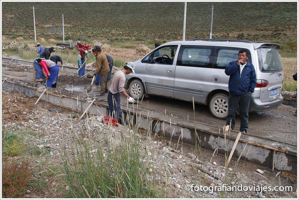 Carretera a Dringung Til Tibet