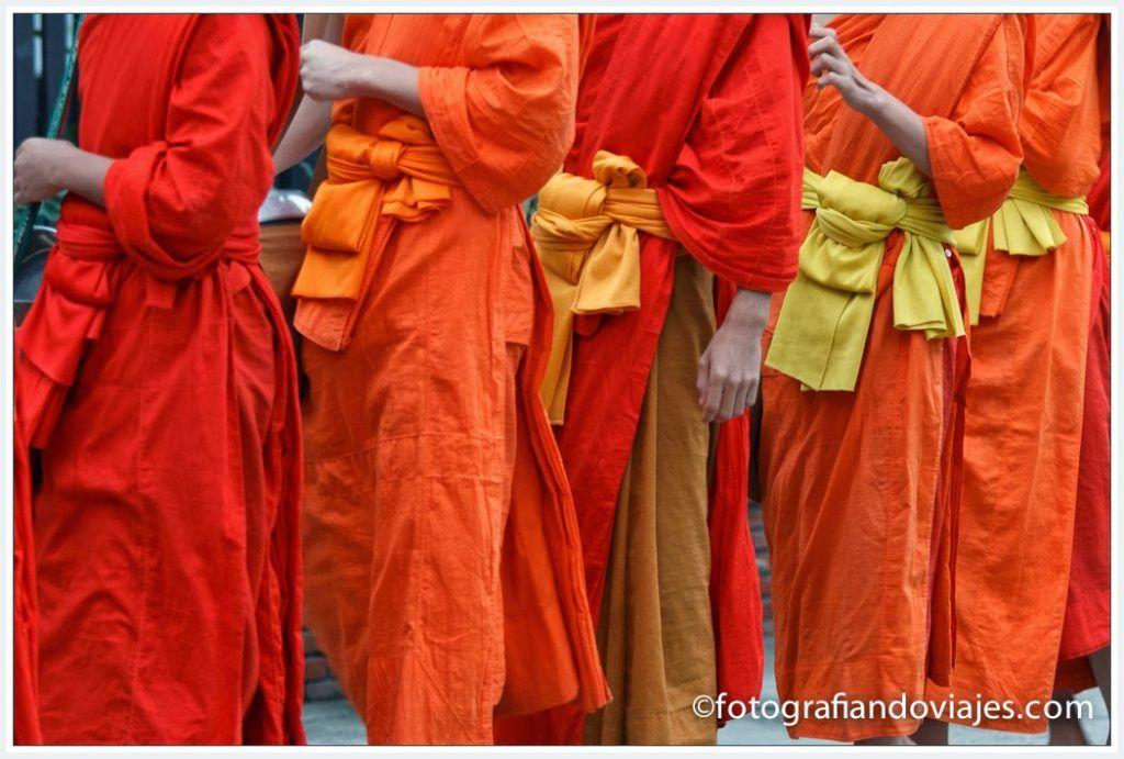 manto monjes budistas