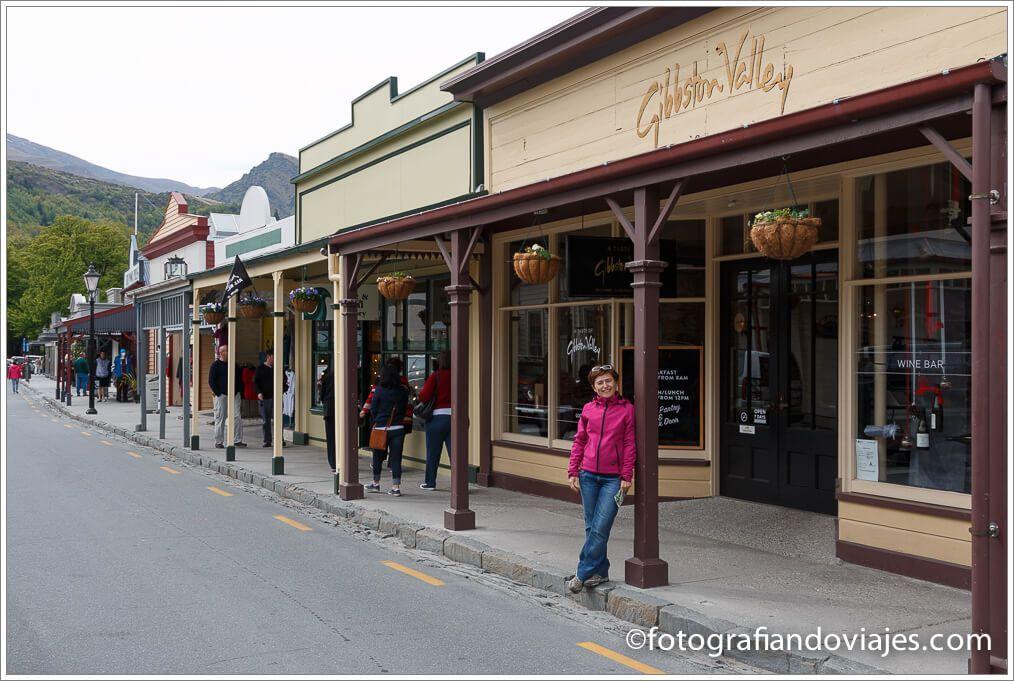 Calle principal de Arrowtown