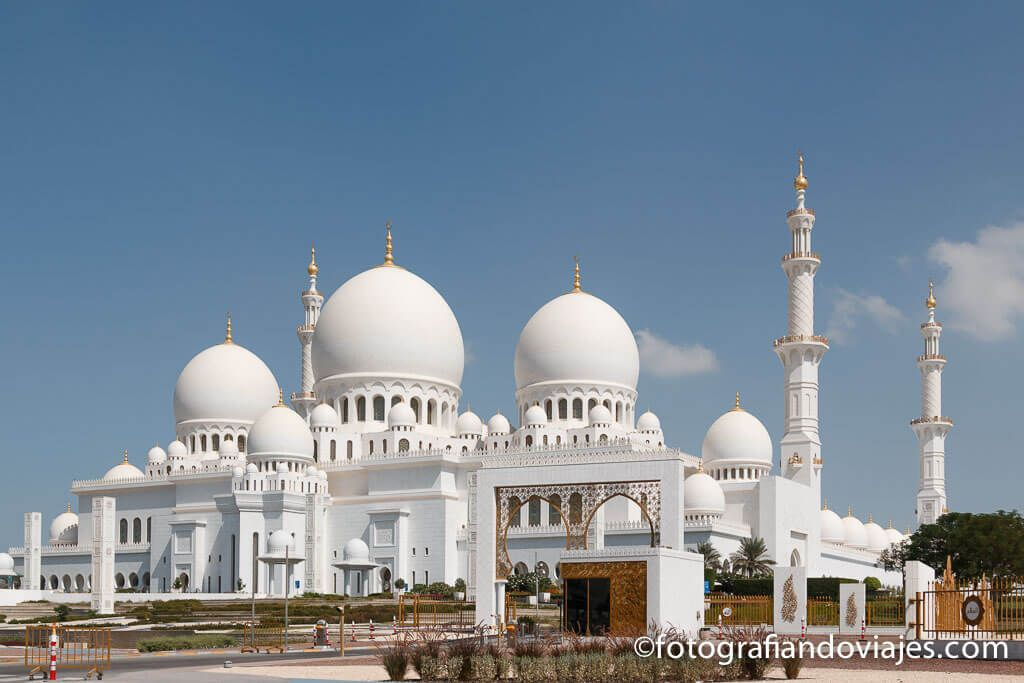 Mezquita de AbuDabi Emiratos Arabes