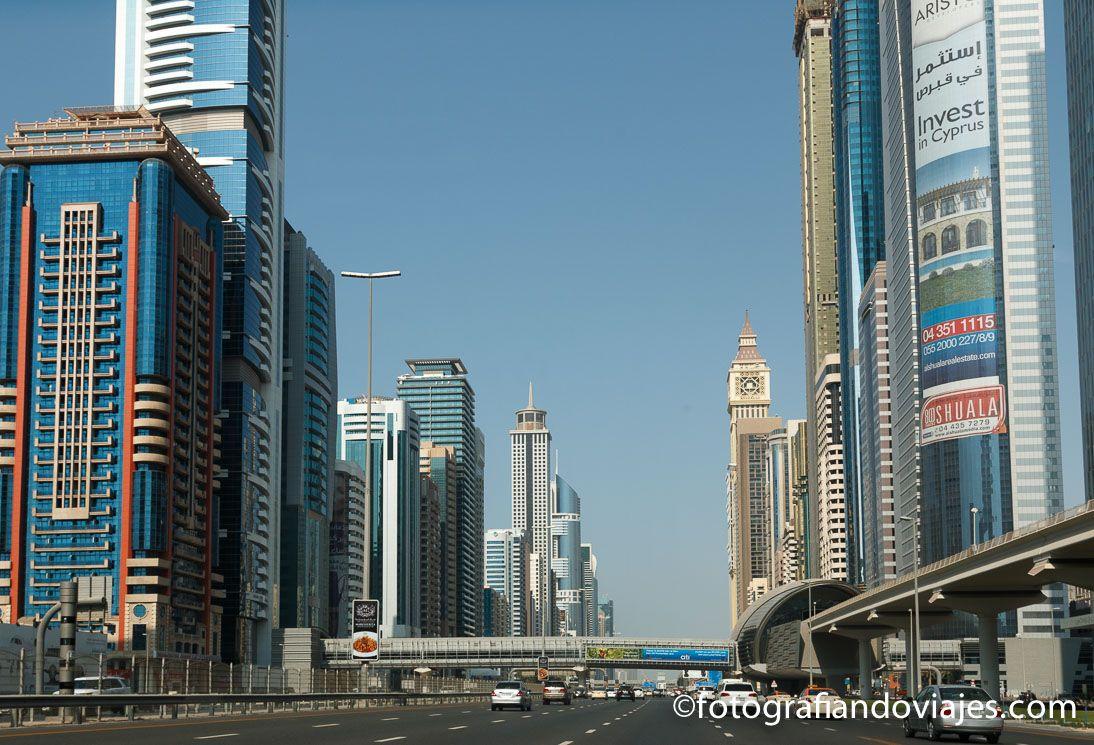 Carretera en Dubai