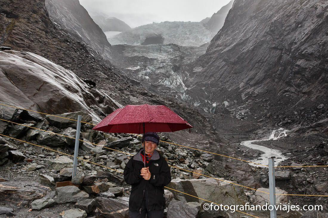 Mirador del glaciar Franz Josef